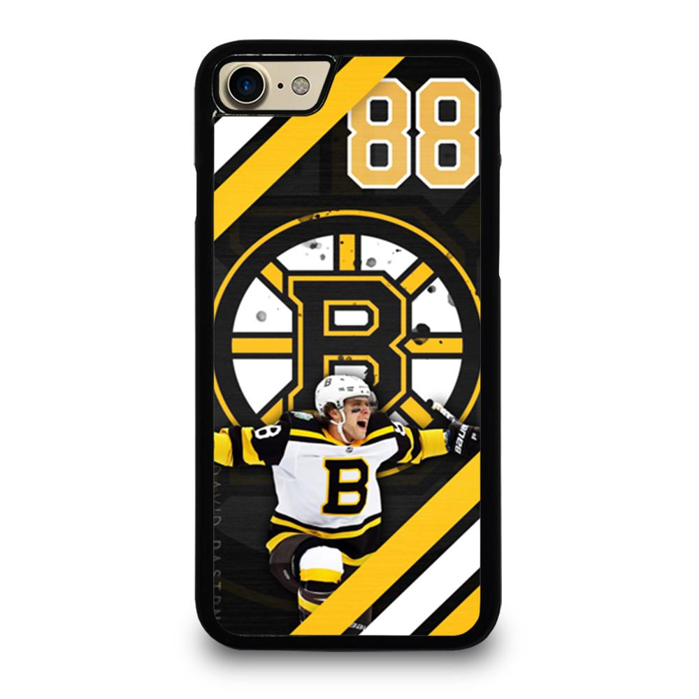 coque custodia cover fundas iphone 11 pro max 5 6 7 8 plus x xs xr se2020 C11965 BOSTON BRUINS DAVID PASTRNAK iPhone 7 / 8 Case