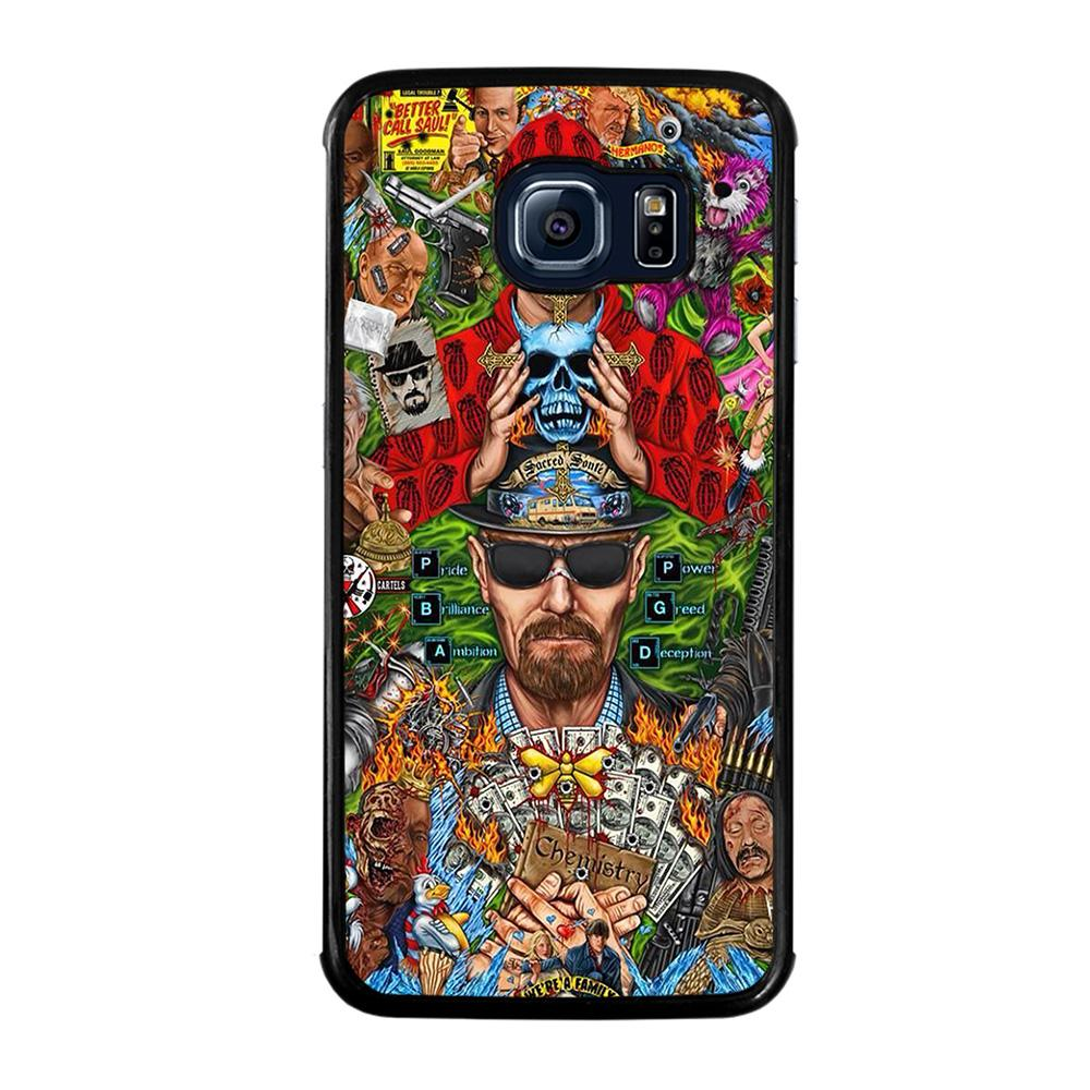 BREAKING BAD MONTAGE Cover Samsung Galaxy S6 Edge