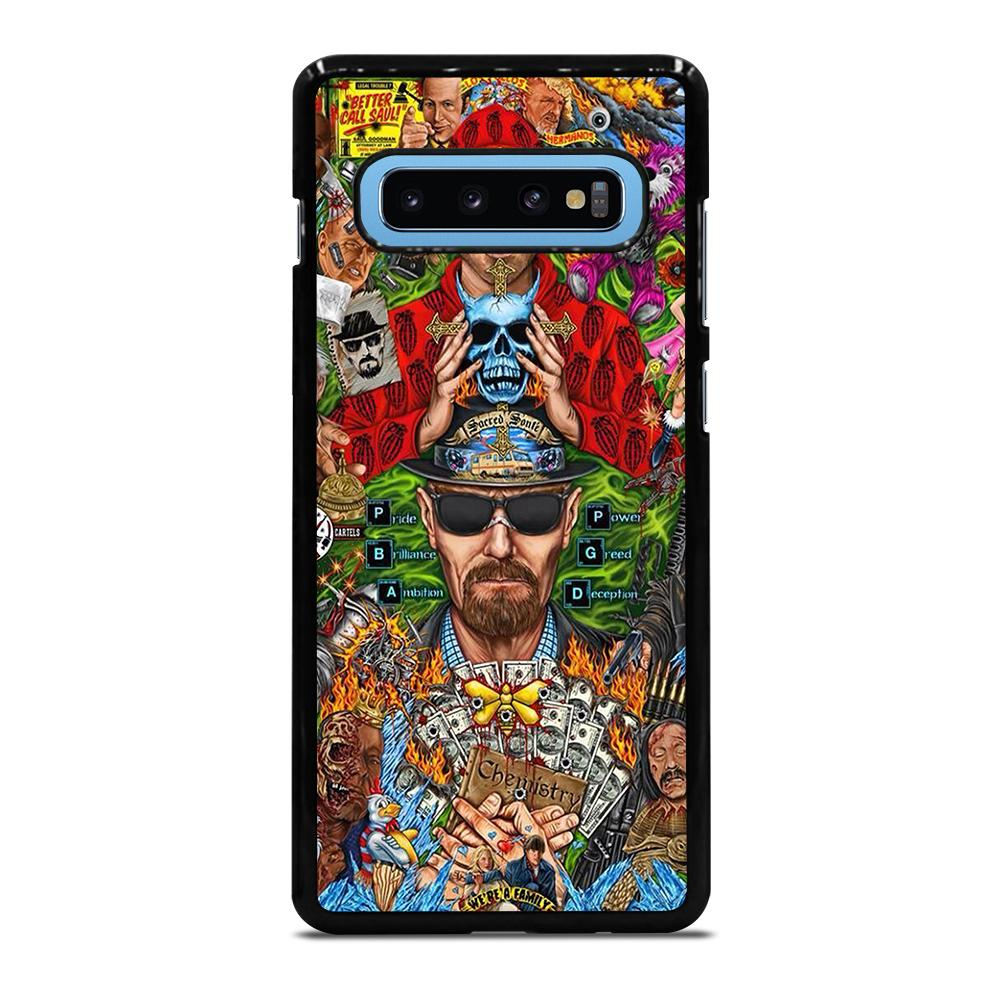 BREAKING BAD MONTAGE Cover Samsung Galaxy S10 Plus - bravocover