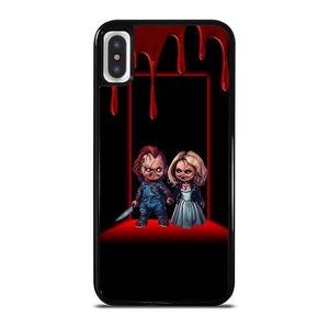 coque custodia cover fundas iphone 11 pro max 5 6 7 8 plus x xs xr se2020 C12190 BRIDE OF CHUCKY 2 iPhone X / XS Case