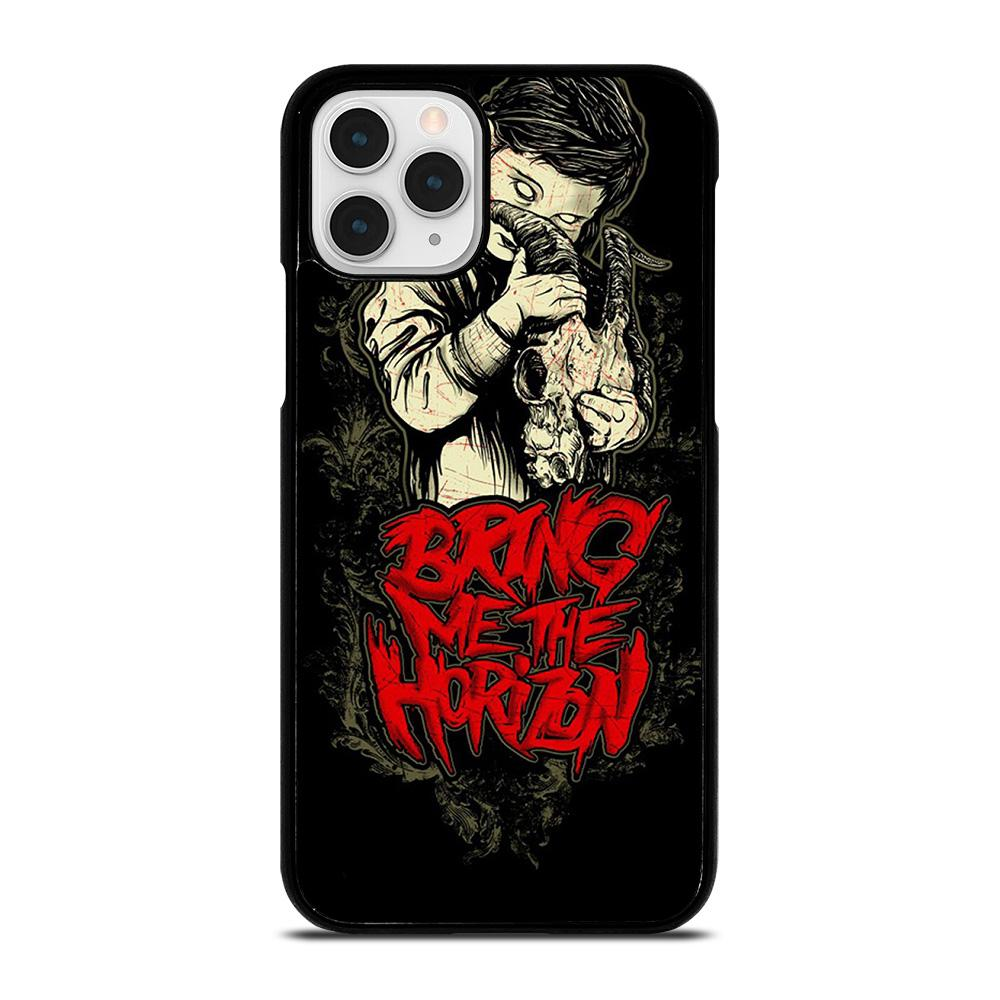 coque custodia cover fundas iphone 11 pro max 5 6 7 8 plus x xs xr se2020 C12215 BRING ME THE HORIZON #4 iPhone 11 Pro Case
