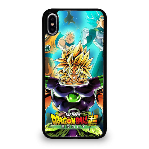 coque custodia cover fundas iphone 11 pro max 5 6 7 8 plus x xs xr se2020 C12253 BROLY DRAGON BALL 1 iPhone XS Max Case