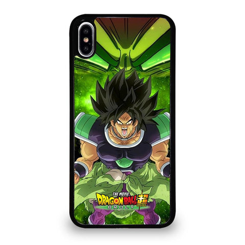 coque custodia cover fundas iphone 11 pro max 5 6 7 8 plus x xs xr se2020 C12255 BROLY DRAGON BALL 2 iPhone XS Max Case