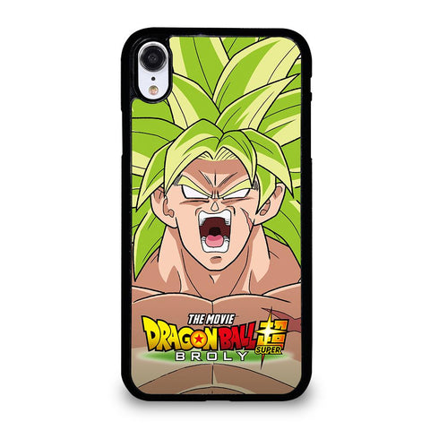 coque custodia cover fundas iphone 11 pro max 5 6 7 8 plus x xs xr se2020 C12258 BROLY DRAGON BALL iPhone XR Case