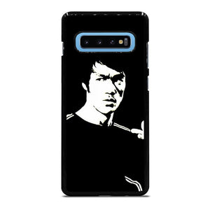 BRUCE LEE BLACK WHITE Cover Samsung Galaxy S10 Plus - bravocover