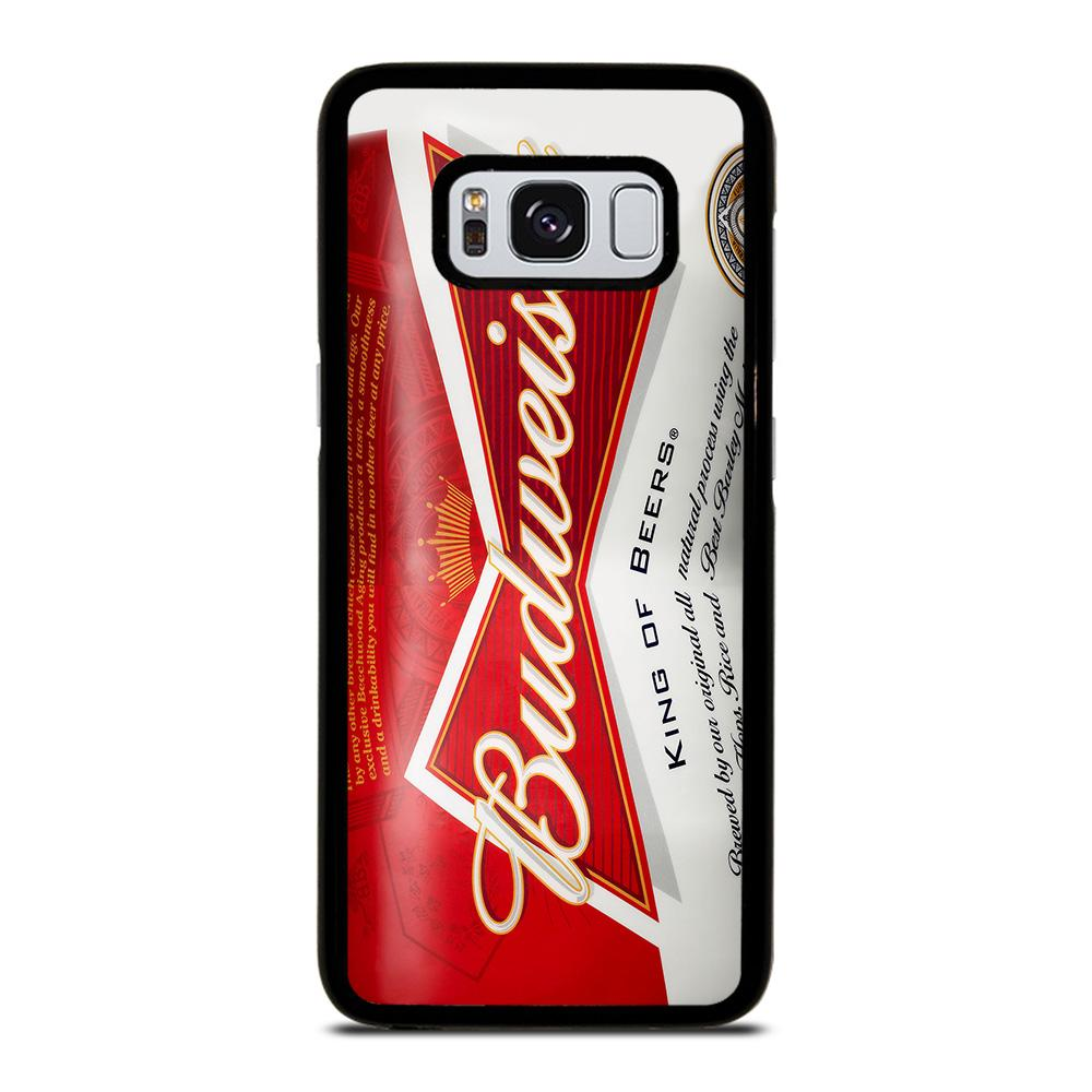 BUDWEISER CAN KING OF BEER Cover Samsung Galaxy S8,cover s8 libro cover s8 di marca,BUDWEISER CAN KING OF BEER Cover Samsung Galaxy S8