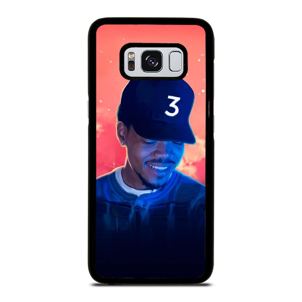 CHANCE THE RAPPER 2 Cover Samsung Galaxy S8,cover s8 di marca clear view standing cover s8,CHANCE THE RAPPER 2 Cover Samsung Galaxy S8