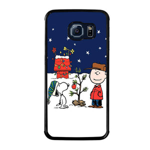 CHARLIE BROWN PEANUTS COMICS SNOOPY Cover Samsung Galaxy S6 Edge