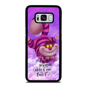 CHESIRE CAT Cover Samsung Galaxy S8,flip cover s8 cover s8 silicone,CHESIRE CAT Cover Samsung Galaxy S8