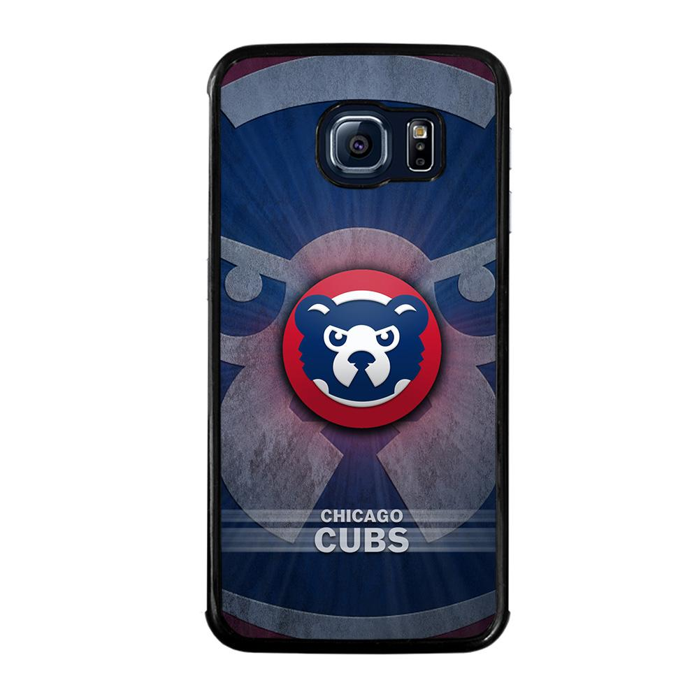 CHICAGO CUBS LOGO Cover Samsung Galaxy S6 Edge
