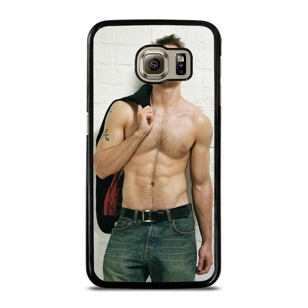 CHRIS EVANS HOT SEXY BODY Cover Samsung Galaxy S6