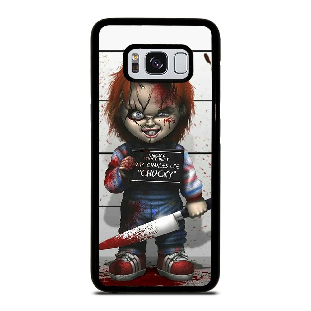 CHUCKY DOLL WITH KNIFE Cover Samsung Galaxy S8,cover s8 alcantara cover s8 clear view,CHUCKY DOLL WITH KNIFE Cover Samsung Galaxy S8