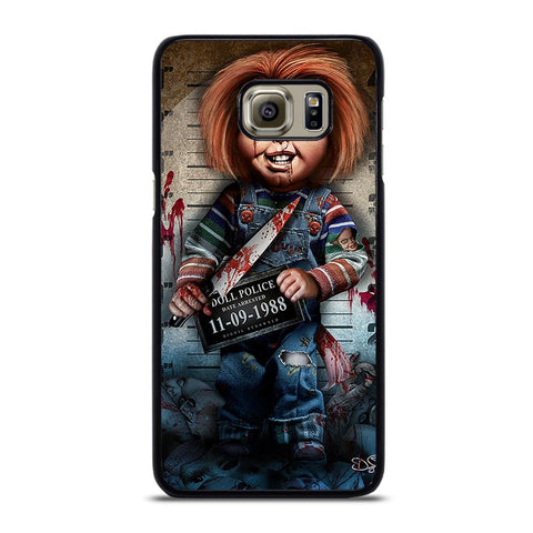 CHUCKY DOLL WITH KNIFE 2 Cover Samsung Galaxy S6 Edge Plus