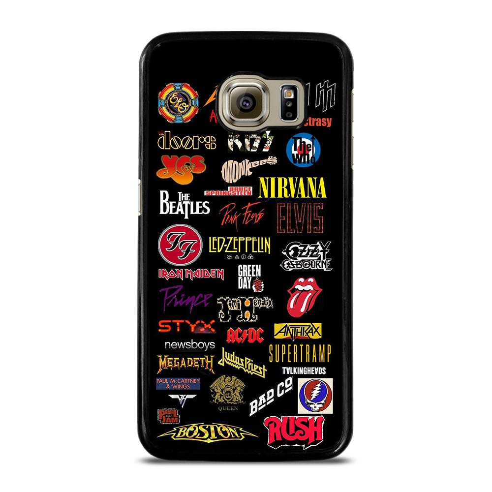 CLASSIC ROCK BAND LOGO Cover Samsung Galaxy S6