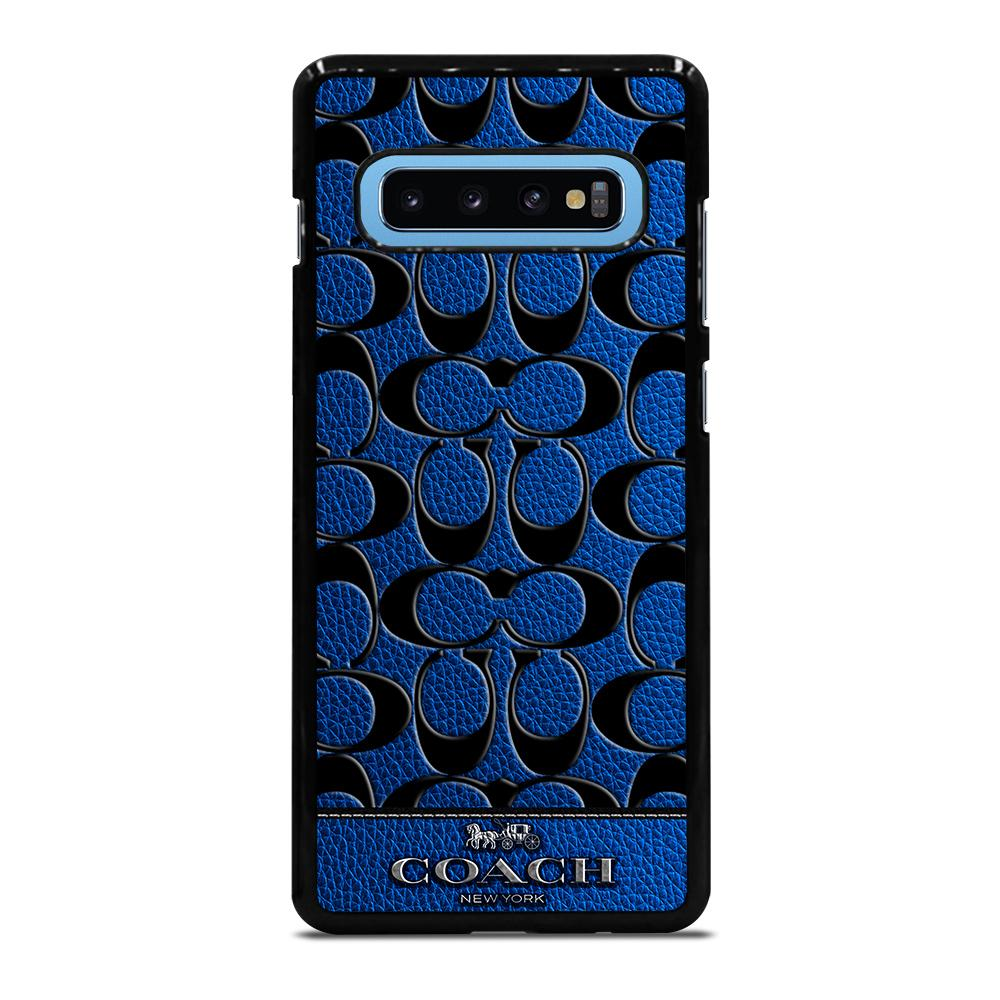 COACH NEW YORK BLUE Cover Samsung Galaxy S10 Plus - bravocover