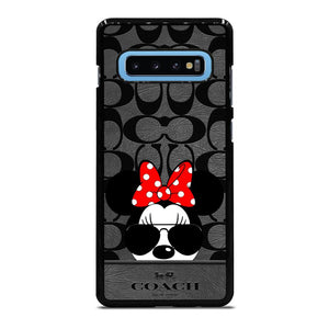COACH NEW YORK DISNEY MICKEY MOUSE Cover Samsung Galaxy S10 Plus