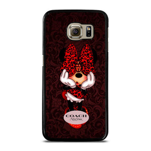 COACH MINNIE MOUSE NEW YORK Cover Samsung Galaxy S6