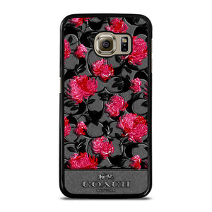 COACH NEW YORK FLOWER 3 Cover Samsung Galaxy S6