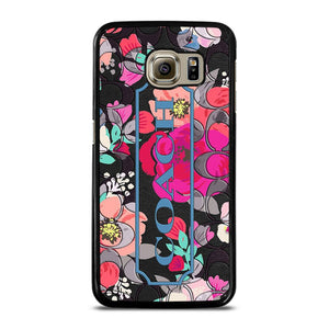 COACH NEW YORK FLOWER Cover Samsung Galaxy S6