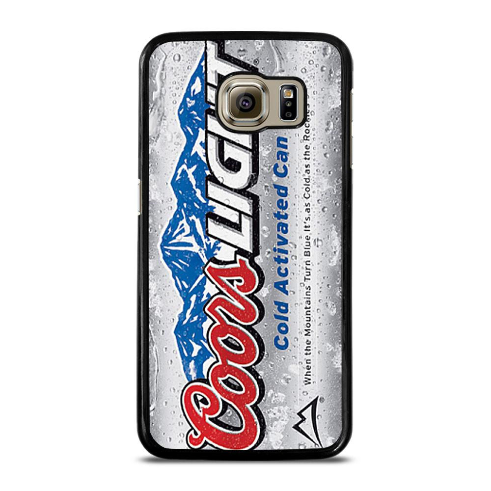 COORS LIGHT BEER 4 Cover Samsung Galaxy S6