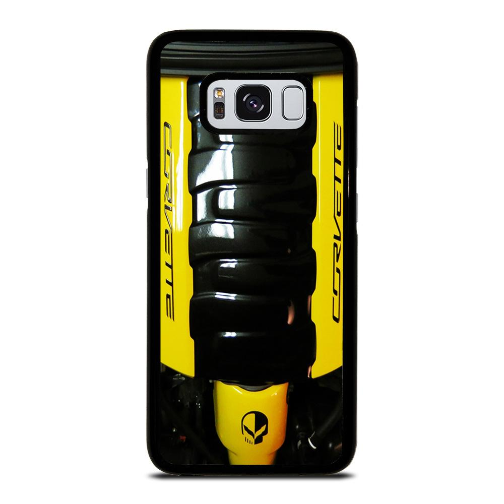 CORVETTE ENGINE YELLOW Cover Samsung Galaxy S8,clear view standing cover s8 recensione cover s8 marcelo burlon,CORVETTE ENGINE YELLOW Cover Samsung Galaxy S8