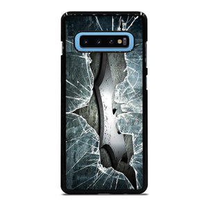 CRACKED OUT GLASS BATMAN THE DARK KNIGHT 2 Cover Samsung Galaxy S10 Plus - bravocover