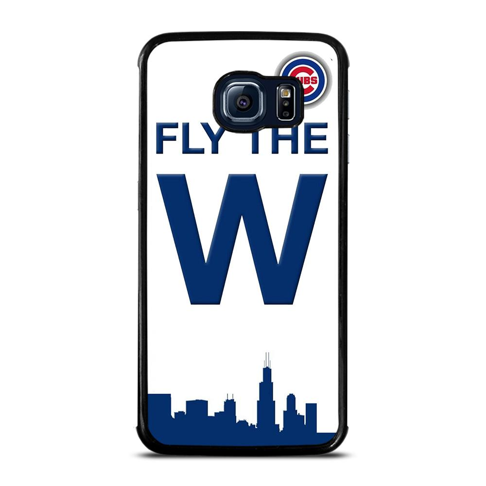 Chicago Cubs Mlb Icon Cover Samsung Galaxy S6 Edge