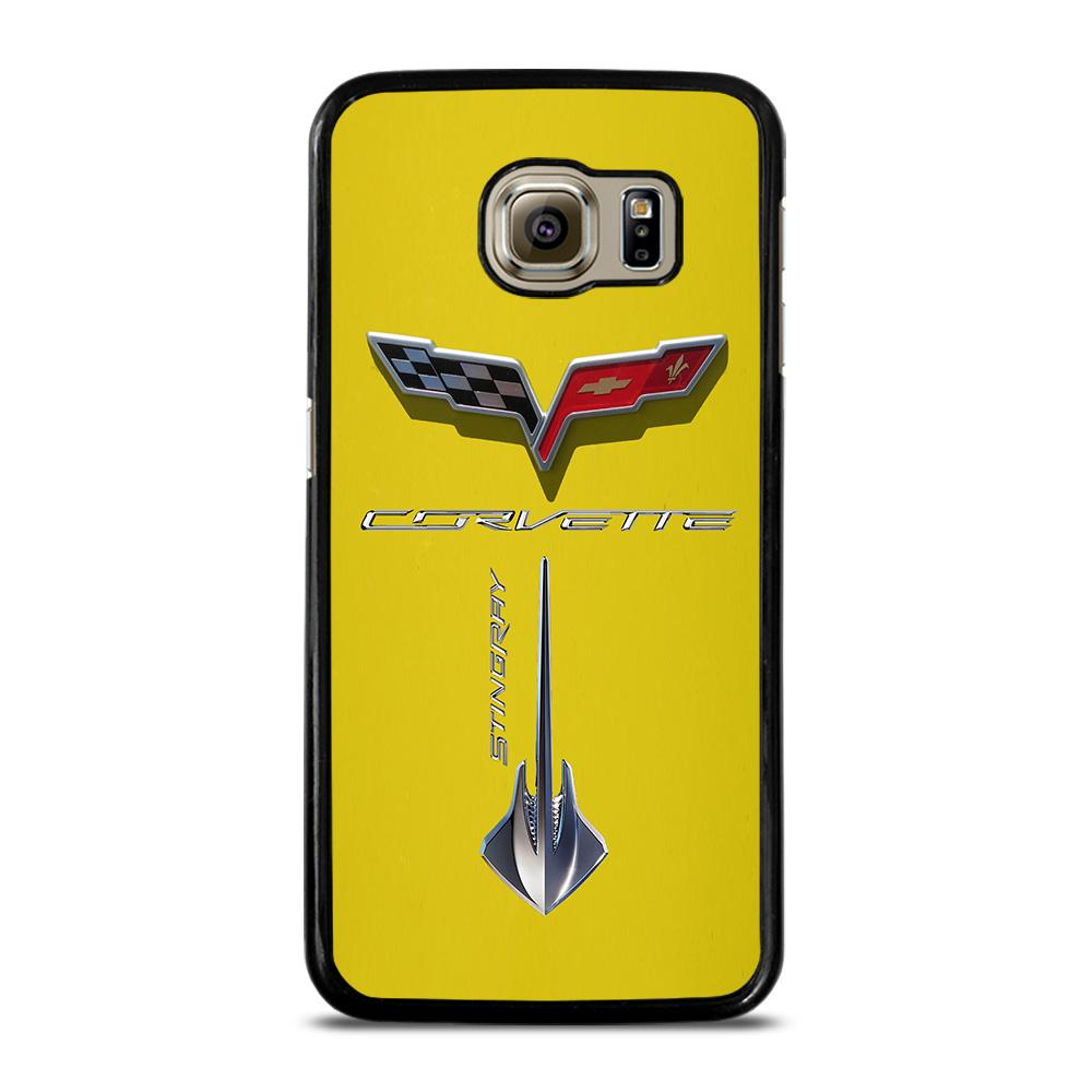 Corvette Stingray C7 Yellow Cover Samsung Galaxy S6