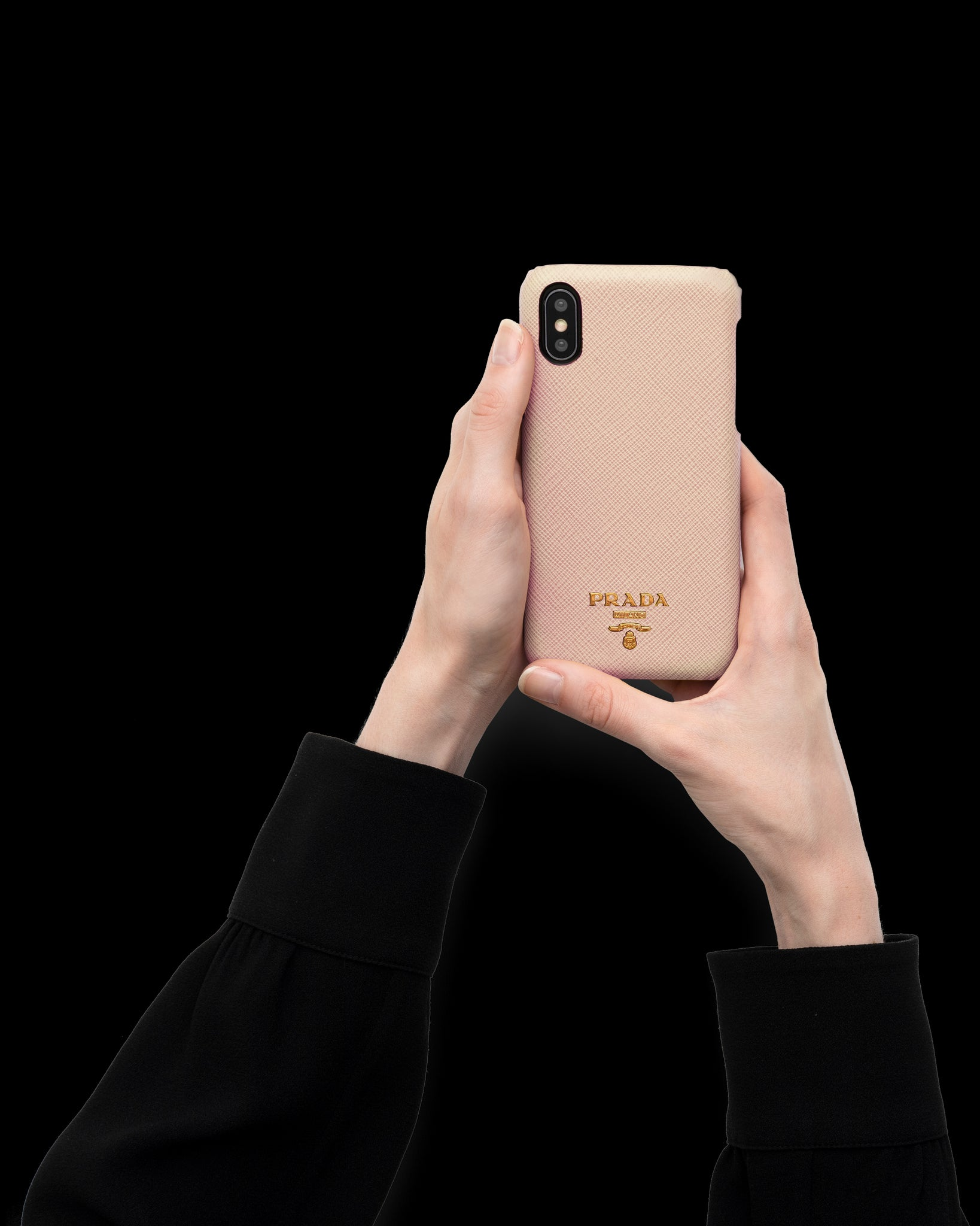 Cover in Saffiano per iPhone X e XS  Prada - 1ZH058_QWA_F0236
