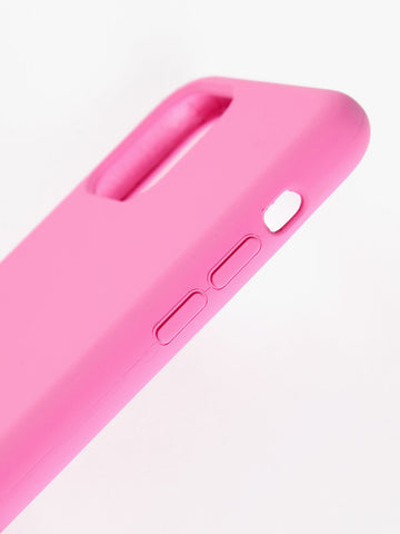 Cover in silicone fuxia iphone 11Pro Max siipro  MecShopping