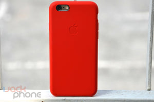Custodia Apple in Pelle (RED) per iPhone 6 Plus - La recensione di