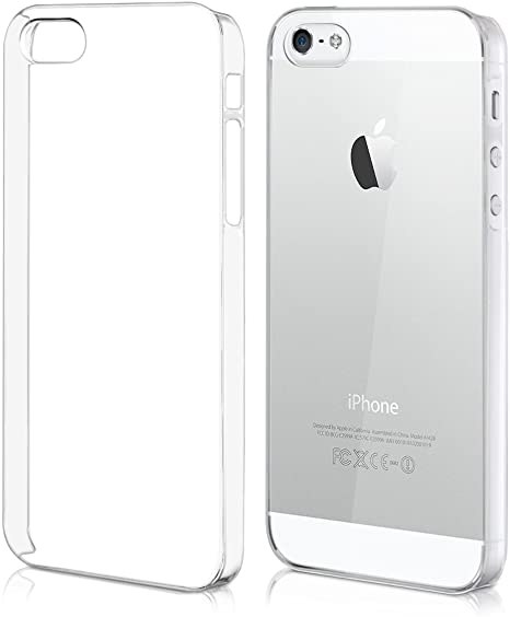 Custodia super sottile colore bianco per Apple iPhone 5