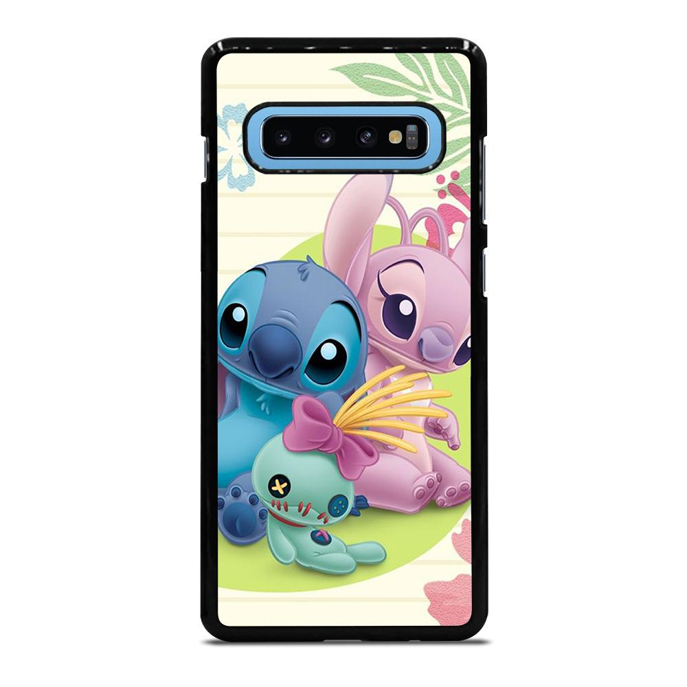 DISNEY STITCH AND GIRLFRIEND Cover Samsung Galaxy S10 Plus