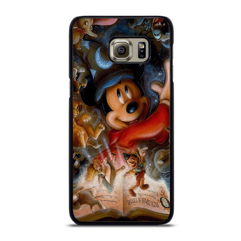 DISNEY MICKEY MOUSE AND MORE CHARACTER Cover Samsung Galaxy S6 Edge Plus