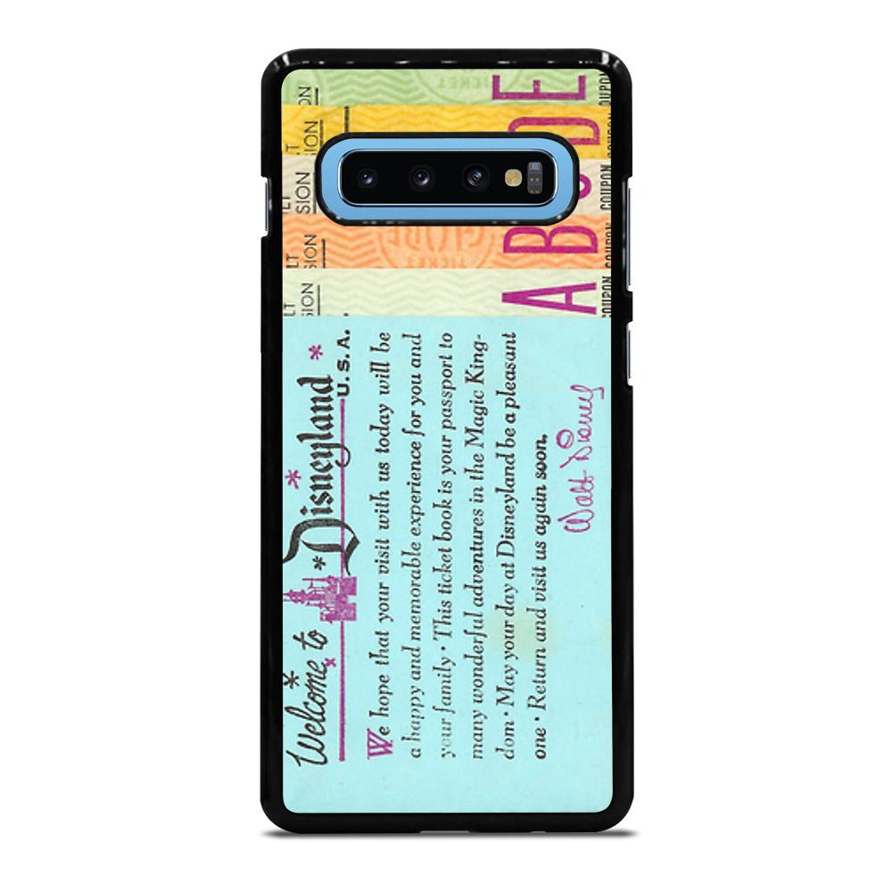 DISNEY WORLD TICKET BOOK Cover Samsung Galaxy S10 Plus