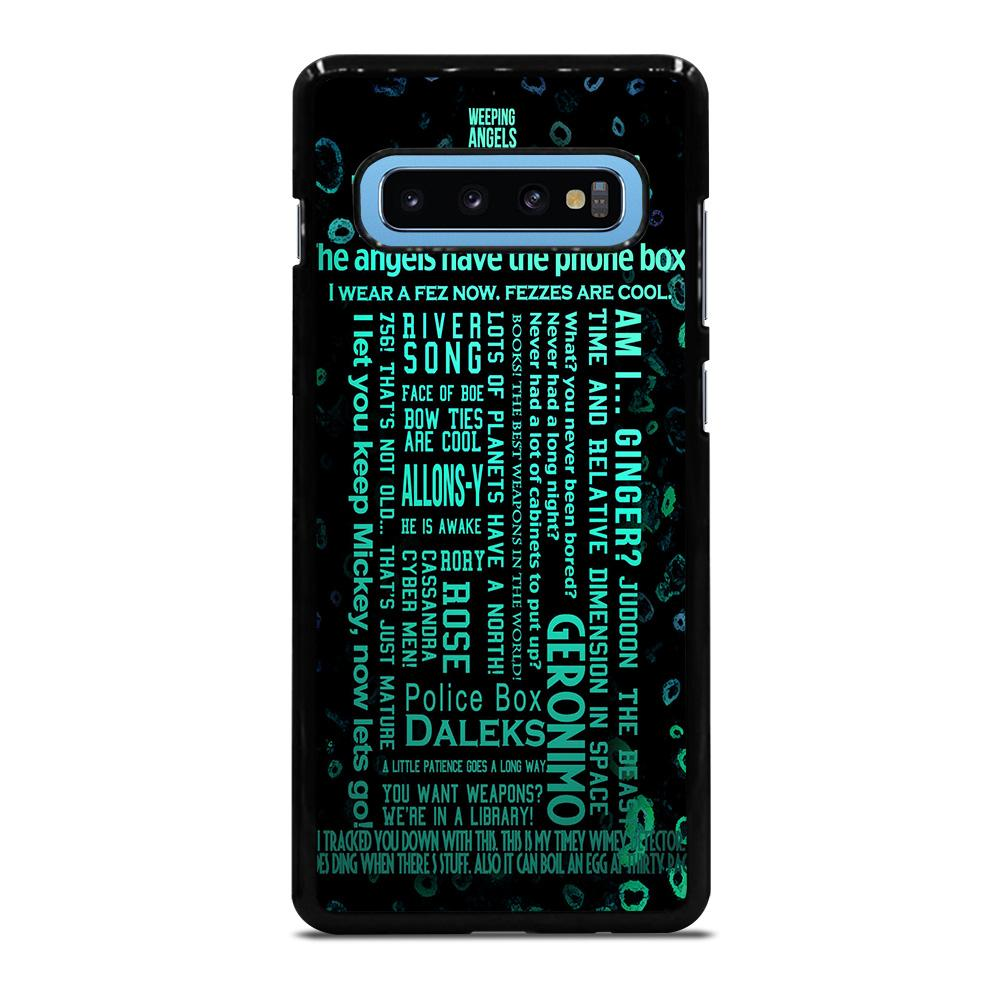DOCTOR WHO TARDIS Cover Samsung Galaxy S10 Plus