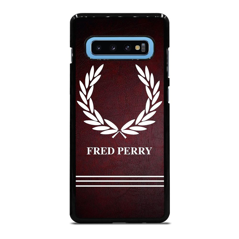 ELEGANT FRED PERRY LOGO Cover Samsung Galaxy S10 Plus