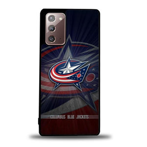 coque custodia cover fundas hoesjes j3 J5 J6 s20 s10 s9 s8 s7 s6 s5 plus edge B15794 Columbus Bluejackets FJ1018 Samsung Galaxy Note 20 Case