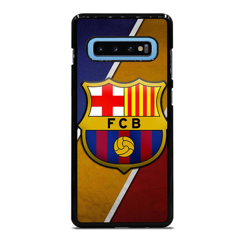 FC BARCELONA LOGO iPhone 8 Plus Rubber Cover Samsung Galaxy S10 Plus