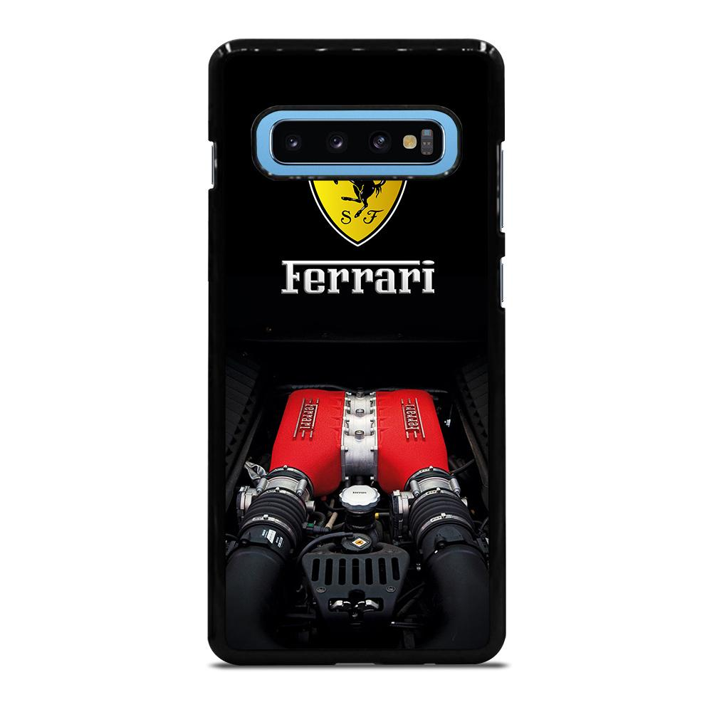FERRARI TWIN TURBO MACHINE Cover Samsung Galaxy S10 Plus