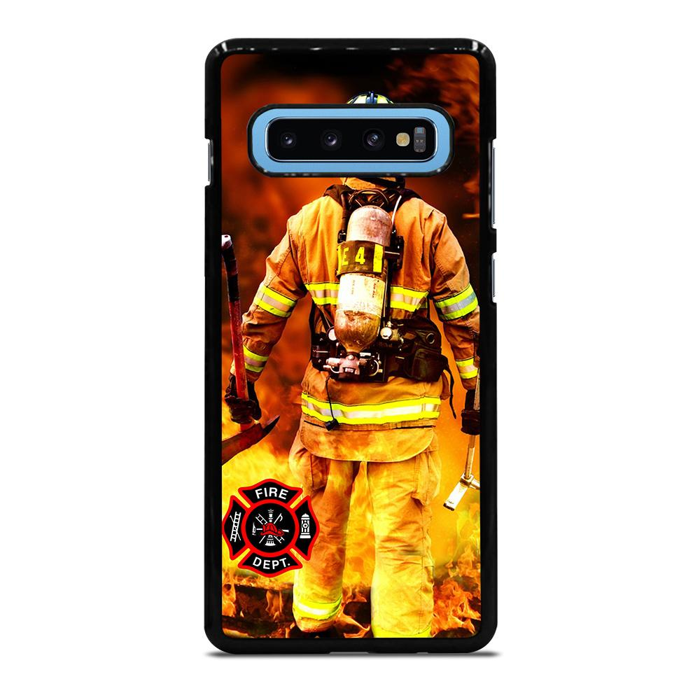 FIREFIGHTER FIREMAN DEPARTMENT Cover Samsung Galaxy S10 Plus