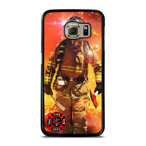 FIREFIGHTER FIREMAN Cover Samsung Galaxy S6