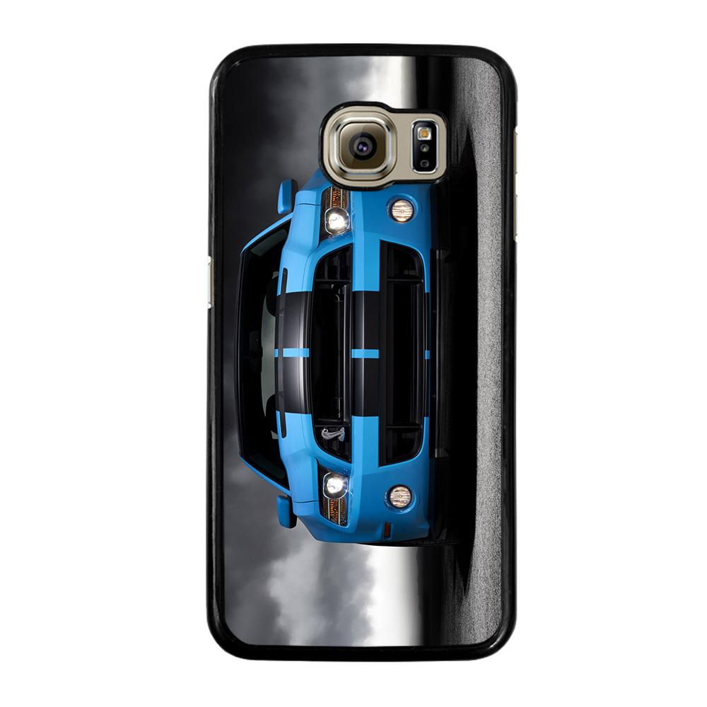 FORD MUSTANG BLUE Cover Samsung Galaxy S6