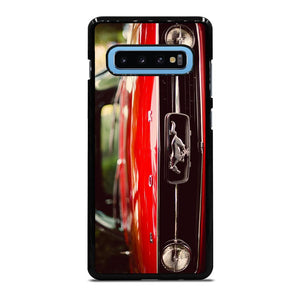 FORD MUSTANG FRONT LOGO Cover Samsung Galaxy S10 Plus