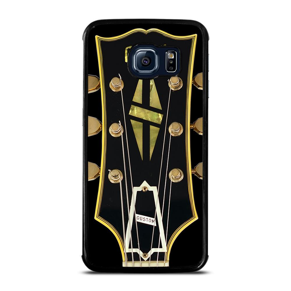 GIBSON GUITAR LOGO 2 Cover Samsung Galaxy S6 Edge