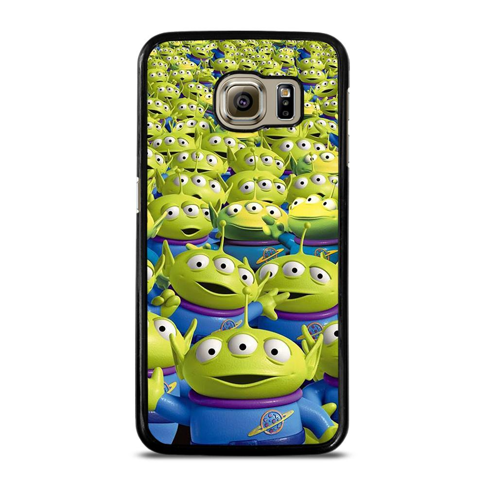 GREEN ALIEN TOY STORY Cover Samsung Galaxy S6