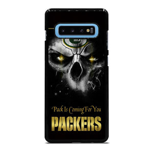 GREEN BAY PACKERS SKULL Cover Samsung Galaxy S10 Plus