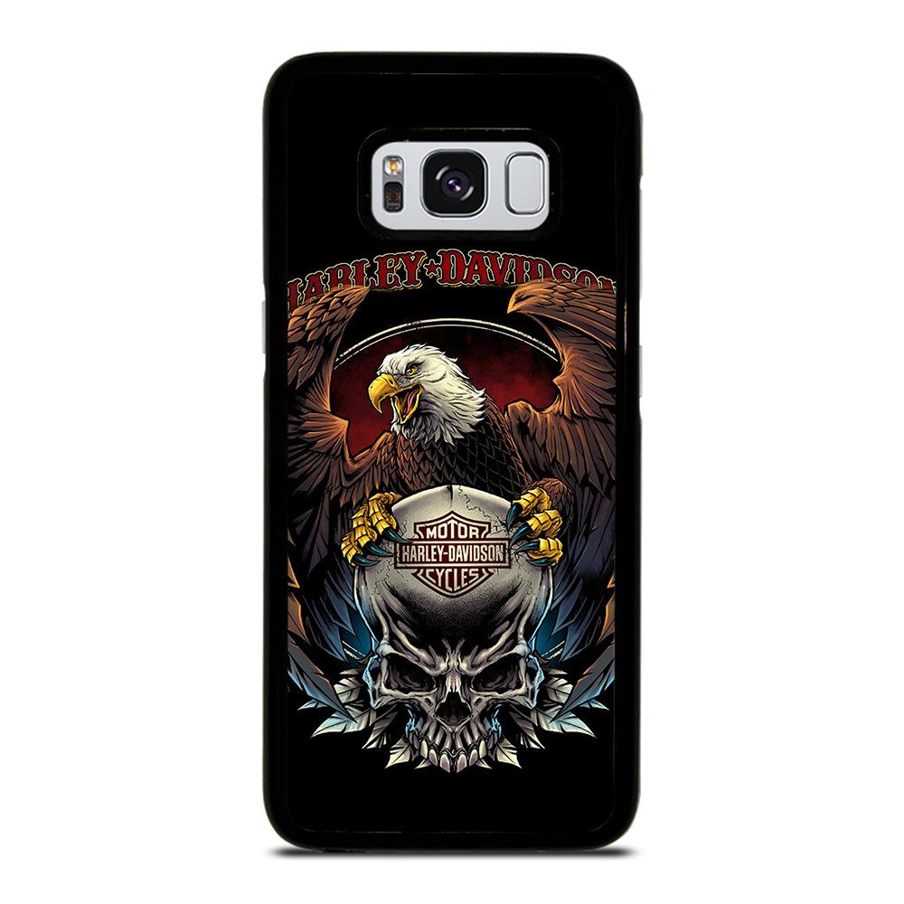 HARLEY DAVIDSON 2 Cover Samsung Galaxy S8,cover s8 inter cover s8 rigida,HARLEY DAVIDSON 2 Cover Samsung Galaxy S8