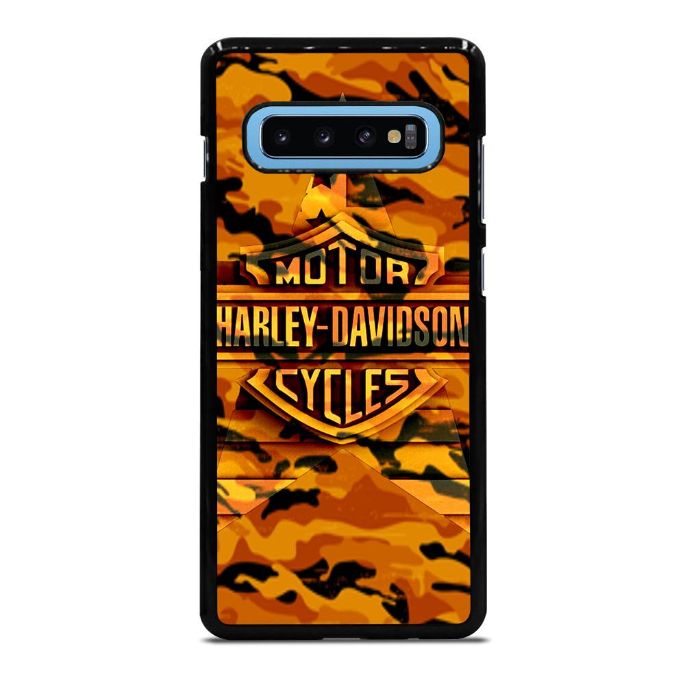 HARLEY DAVIDSON CAMO ORANGE Cover Samsung Galaxy S10 Plus