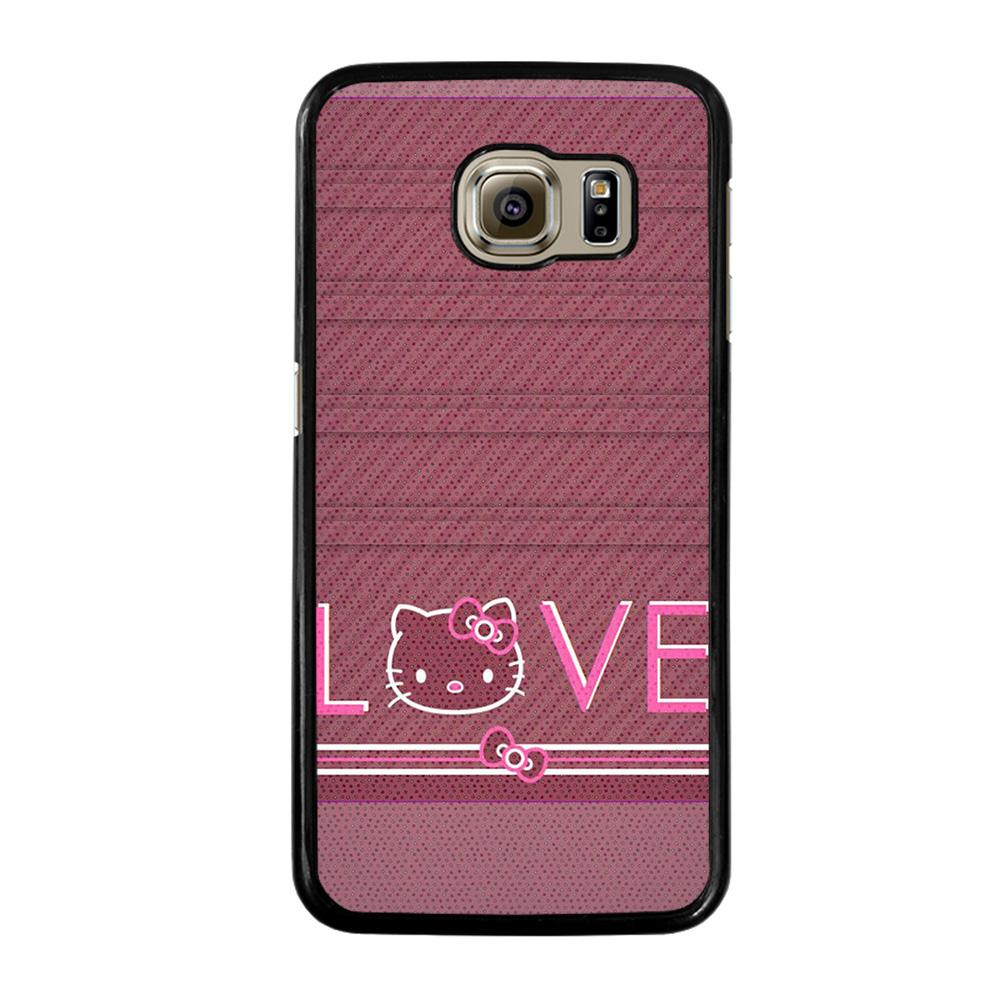 HELLO KITTY VINTAGE Cover Samsung Galaxy S6
